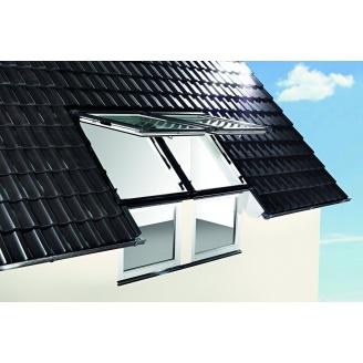 Фасадное окно Roto WFA Designo R18 K 112х61 см