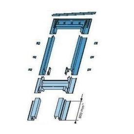 Оклад Roto EFA для з'єднання з фасадним елементом 94х160 см