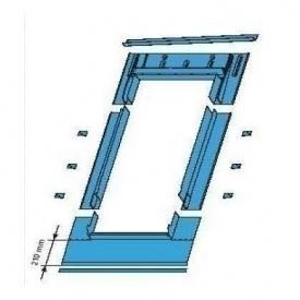 Оклад Roto EDR SDS для плоских покриттів 54х98 см