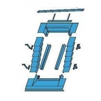 Оклад для глибокої установки Roto ETL 65х140 см