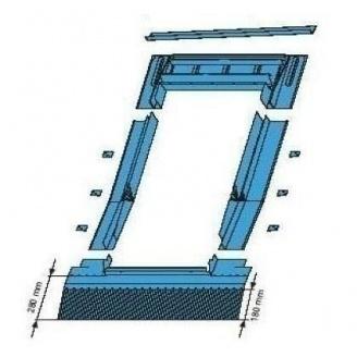 Оклад Roto EDR HZI для высокопрофильных покрытий 114*140 см