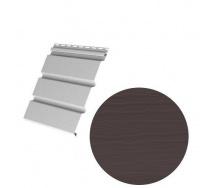 Сайдинг виниловый Royal Europa Royal Soffit brown 3660*340 мм