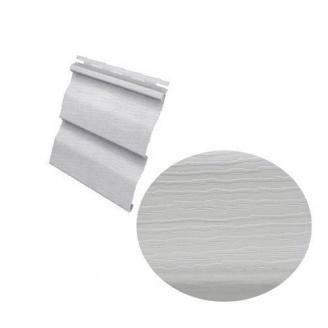Сайдинг виниловый Royal Europa Grandform gray с двойным изломом