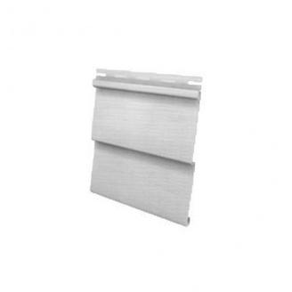 Сайдинг виниловый Royal Europa Grandform white с одним изломом