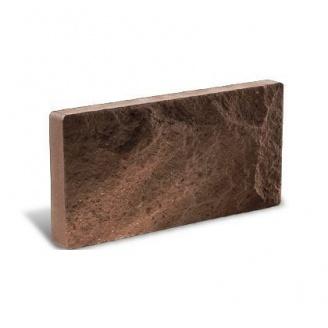Облицовочный кирпич Литос Цокольный 250*18*100 мм шоколад