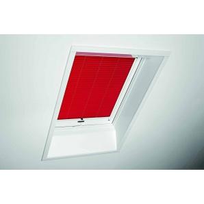 Плиссированная штора Roto ZFA 65х140 см красная B-125