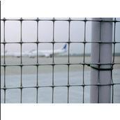 Сетка для ограждения Tenax Миллениум 35x48 мм 2x50 м серебро