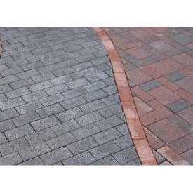 Плитка тротуарная 6 мм серая