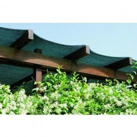 Сітка полімерна затіняюча Tenax Ямайка 2x5 м зелена