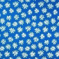 Сонцезахисна штора Roto Standard ZRS 74х118 см блакитні маргаритки A-208