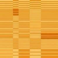 Солнцезащитная штора Roto Exclusiv ZRE 74х160 см оранжевая в полоску A-209