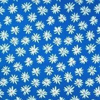 Солнцезащитная штора Roto Exclusiv ZRE 65х118 см голубые маргаритки A-208