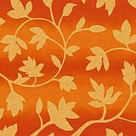 Солнцезащитная штора Roto Exclusiv ZRE 94х118 см оранжевые цветы A-206