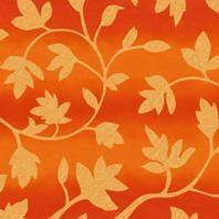 Затемняющая штора Roto ZRV 114х118 см оранжевые цветы D-263