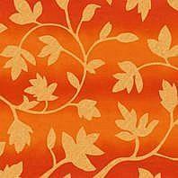 Затемняющая штора Roto ZRV 74х98 см оранжевые цветы D-263