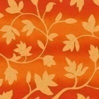 Затемняющая штора Roto ZRV 65х140 см оранжевые цветы D-263
