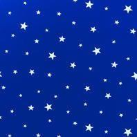 Затемняющая штора Roto ZRV 114х140 см голубые звезды D-264