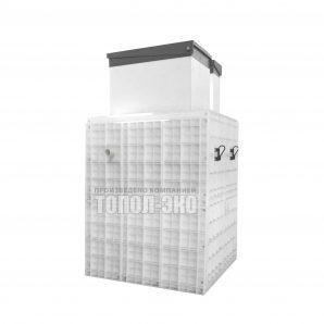 Автономная канализация ТОПОЛ-ЭКО ТОПАС 20 Long 2,25x1,7x3,0 м