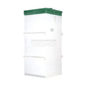 Автономная канализация ТОПОЛ-ЭКО ТОПАС 5 1,1x1,2x2,5 м
