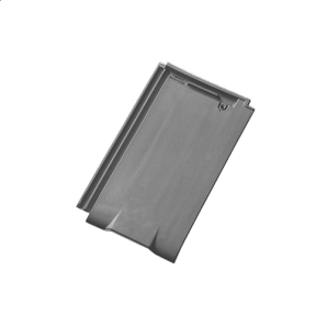 Черепица керамическая вентиляционная Tondach Фигаро Делюкс Австрия 424х241 мм гранит