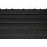 Черепица керамическая боковая левая Tondach Фигаро Делюкс Австрия 424х241 мм черная