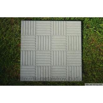 Тротуарная плитка вибролитая Гладкая 300х300х30 мм