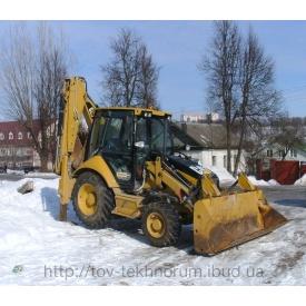Розчищення снігу екскаваторами-навантажувачами