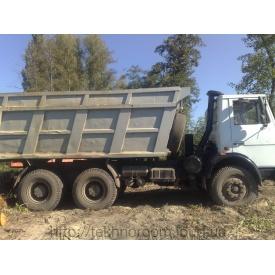 Вывоз мусора самосвалом МАЗ 25 тонн