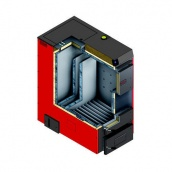 Котел твердотопливный DEFRO OPTIMA PLUS MAX 150 1335х2186х1679 мм