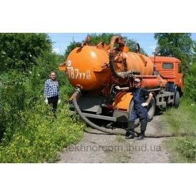Откачивание канализации