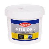Краска для стен Sadolin Interior 2 3 л белая