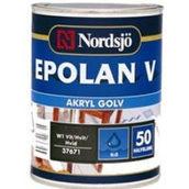 Краска для пола Sadolin Epolan V Akryl 1 л белая