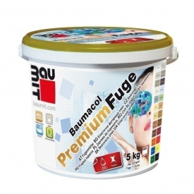 Затирка для швів Baumit Premium Fuge 2 кг cement grey