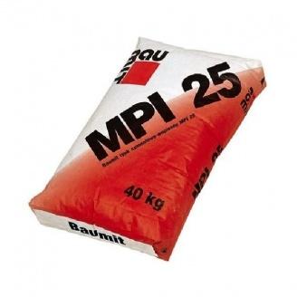 Цементно-известковая штукатурка Baumit MPI 25 40 кг