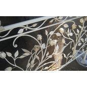 Перило лестничное с художественной ковкой