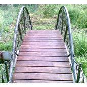 Кованый декоративный мостик