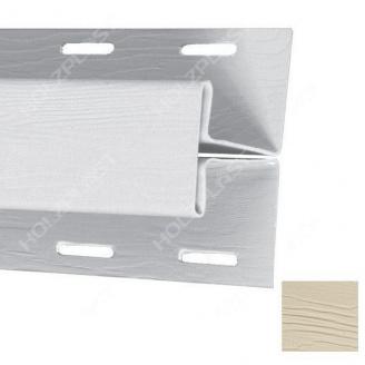 H-профиль Holzplast 3 м светло-бежевый