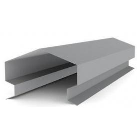 Планка парапета на забор 120 мм
