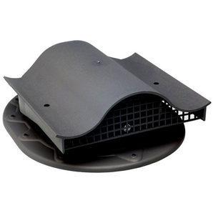 Кровельный вентиль VILPE CLASSIC-KTV 351х266 мм черный