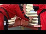 Монтаж керамічної дахівки - крок 6