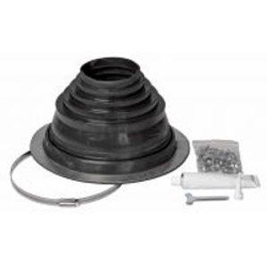 Уплотнитель комплект VILPE ROOFSEAL-4/7 150 мм черный
