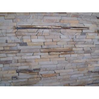 Камень природный песчаник Лапша 60 мм