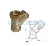 Фильтр для воды С.Т.А. латунный 15 мм