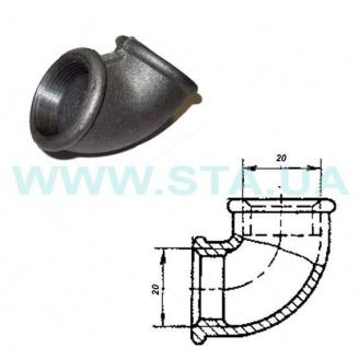 Угольник чугунный С.Т.А. В-В 20 мм