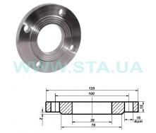 Фланец С.Т.А. точеный стальной Ру16 32 мм
