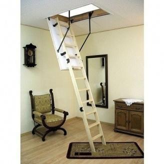 Чердачная лестница Oman Termo 110x70 см