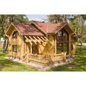 Деревянный жилой дом 150 м2