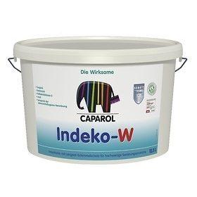 Краска матовая Caparol Indeko-W 2.5 л белая