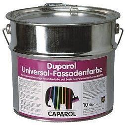 Краска фасадная Caparol Duparol Universal-Fassadenfarbe 10 л белая