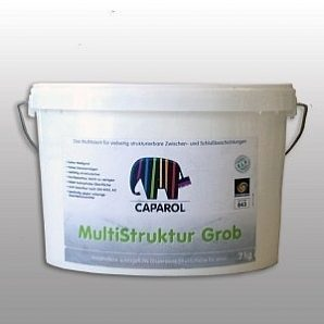 Штукатурка декоративная Caparol Multistrukktur Grob 16 кг белая